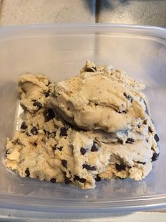 [Homemade] Edible Cookie Dough
