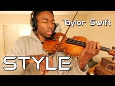 Taylor Swift - STYLE (Violin Freestyle by Eric Stanley) - YouTube