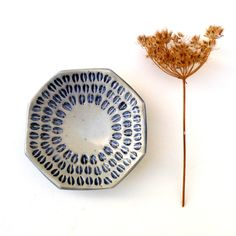 Blue+And+White+Decorative+Ceramic+Bowl+by+BlueMagpieDesign+on+Etsy,+$49.25