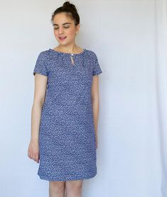 """This dress has become a wardrobe staple for me! So comfy and yet so stylish, without feeling """"dressed-up"""". In case you don't know it, the pattern is from Sew Over It and it's the Lulu Dress Sew Over It Patterns, Modern Sewing Patterns, Sewing Ideas, Sewing Projects, Dress Skirt, Dress Up, Diy Fashion, Sustainable Fashion, Fashion Photography"""