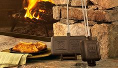 Plow & Hearth Neighborhood - How To - Cook In Your Fireplace Or Woodstove ~ for the next time our power goes out during an ice storm. Survival Food Kits, Emergency Food Supply, Emergency Preparedness, Survival Hacks, Hurricane Preparedness, 400 Calorie Meals, Earthquake Kits, Wood Stove Cooking, Energy Bars
