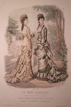 La Mode Illustrée 1878