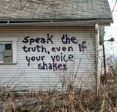 My voice always shakes