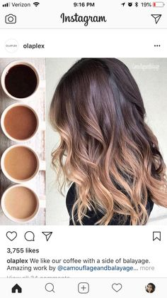 EPIC PERFECT balayage to match your morning coffee ☕️💇🏻♀️Hair goals for super pretty, great blend, color matching on point. Asian hair color Found on ig: Asian Hair Highlights, Balayage Asian Hair, Balyage Hair, Balayage On Short Hair, Asian Hair Dye, Hair Color Asian, Hair Color And Cut, Asian Hair 2018, Coffee Hair Color