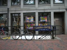 Camera Center, Quincy Market...2007. It used to be on Quaker Ln., just off of State St., in 1973...