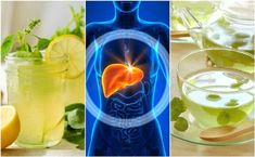 Clean Your Liver While You Sleep by Making These 5 Drinks Natural Liver Detox, Best Liver Detox, Detox Cleanse Drink, Liver Detox Cleanse, Detox Drinks, Hinchazón Abdominal, Clean Your Liver, Drinks Before Bed, Liver Detoxification