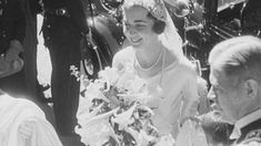 Old film from 1935. Queen Ingrid's wedding. museum/danmark-paa-film