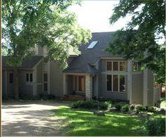 Lakeside Lodges, Illinois, Garage Doors, Heaven, Outdoor Decor, Plants, Home Decor, Cabins, Sky
