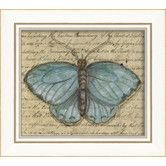 Found it at Wayfair - Butterfly Framed Graphic Art