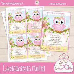Invitaciones De Cumpleaños De Búho en Pinterest   Fiestas De ...