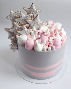 Cupcakes Decoration Easy Birthday Ideas For 2019 Cute Cakes, Pretty Cakes, Yummy Cakes, Beautiful Cakes, Amazing Cakes, New Birthday Cake, Birthday Cupcakes, Fondant Cookies, Cupcake Cakes