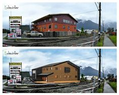 Remodelacion Hotel Oelckers / Hornopiren /Chile