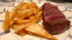 "Onglet de boeuf, frites ""so french"" #gastronomy #Bordeaux #gastronomy"