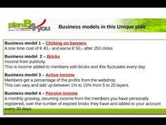 3. Passives Einkommen erzielen mit PlanB4you | Team Tommy PlanB4you Bonus