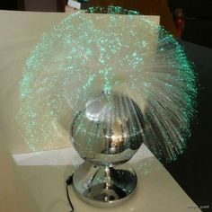 Fiber optic lamp - wanted one most of my youth. It was not to be.