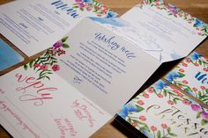 'Botanicals' x Off On My Bicycle - just a gorgeous invitation suite