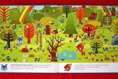 livre enfant l'ile magique de Loustic - Purple Jumble