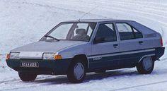 Citroën BX chronology 1