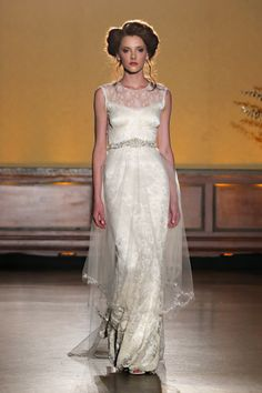 Claire Pettibone: http://www.stylemepretty.com/2015/11/22/sofia-vergara-wedding-dress-detachable-skirt-zuhair-murad/