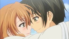 "This is from the anime ""Golden Time."" The couple in the picture is Banri Tada and Kōko Kaga. Cardcaptor Sakura, Sakura Haruno, Slice Of Life, Golden Time Anime, Crossed Comics, Sakura Quest, Bebop, Blue Exorcist Anime, Wings Drawing"