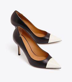 b113f3b8916 Penelope cap-toe pump. Women s HeelsTory BurchDesigner Shoes