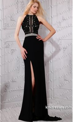 glamorous Beaded lace appliques sheer haltered fit and flare evening dress.prom dresses,formal dresses,ball gown,homecoming dresses,party dress,evening dresses,sequin dresses,cocktail dresses,graduation dresses,formal gowns,prom gown,evening gown.