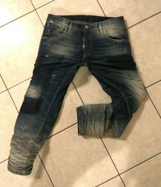 ALEXANDROS S.A. BROKERS JEANS #Patched #Destroyed #Vintage #Lovedenim