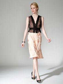 Woven Brocade Combo Dress by Narciso Rodriguez at Gilt