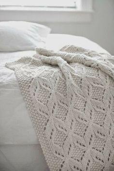 manta de tricot