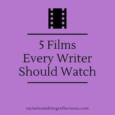 In case you need a break from staring at a blank screen and crying: 5 Films Every Writer Should Watch