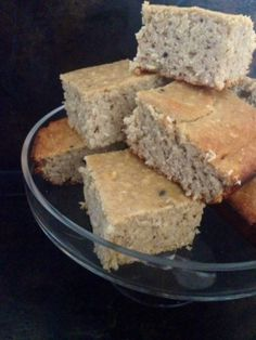 Ripped Recipes - Peanut Butter Banana Bread Protein Bars - These bars are a delicious breakfast or snack you can take with you on the go! To make these paleo, just sub almond butter for peanut butter.