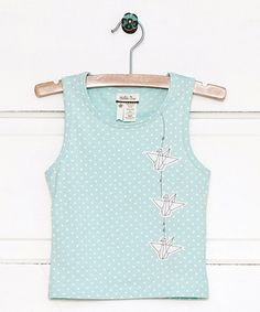 Look what I found on #zulily! Light Blue Soar Tank - Infant, Toddler & Girls #zulilyfinds