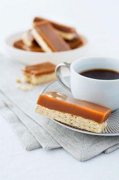 Karamell-Shortbread | http://eatsmarter.de/rezepte/karamell-shortbread