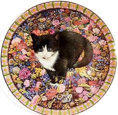 Lesley Anne Ivory Meet My Kittens October Chesterton Calender Plate | eBay