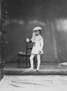 Leonida Caldesi (1823-91) - Prince Arthur, April 7th 1859 [in Portraits of Royal Children Vol.3 1858-1859]