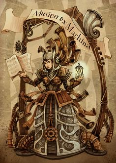 Musica ex Machina Steampunk - by theGorgonist