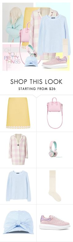 """""""Hold me tight"""" by laste-co ❤ liked on Polyvore featuring Boutique Moschino, Givenchy, Marella, MANGO, Gucci, Federica Moretti and Alexander McQueen"""