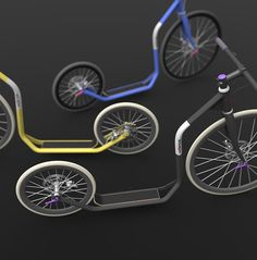 O_o city kickbike. designed by Jiří Krejčiřík///looking for a producer