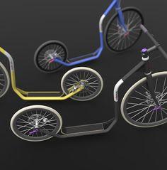 O_o city kickbike. designed by Jiří Krejčiřík///looking for a producer