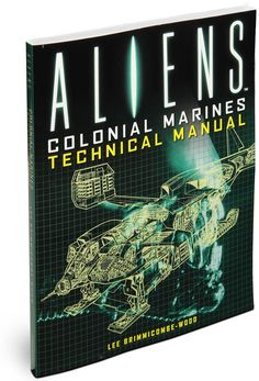ThinkGeek :: Aliens Colonial Marines Technical Manual