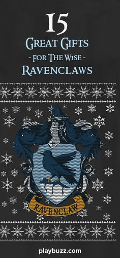 Wise, knowledge enthusiast Ravenclaws of the world will enjoy these fifteen gifts. Whether you are a Ravenclaw or you simply know a Ravenclaw, browse these gifts to find out what a Ravenclaw would enjoy!