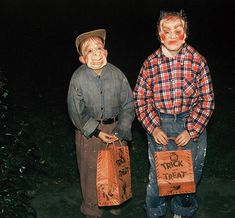 the old hobo costume always good in a pinch...1955