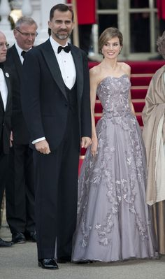 A Royal Success: Queen Letizia of Spain's Style - Princess Letizia at the wedding of Prince William and Kate Middleton