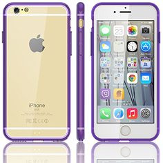 awesome iPhone 6 Plus Case, E LV iPhone 6 Plus Case Cover - Slim Fit Scratch-Resistant Clear Back Bumper Case Cover for iPhone 6 Plus 5.5 (Verizon, AT&T, T-Mobile, Sprint, International Unlocked) for iPhone 6 Plus Case with 1 Stylus and 1 E LV Microfiber Cleaning Cloth - PURPLE Stylish, light weight, unique looking and protects your device from scratches, bumps, and dirt. Precisely cutouts allow you to maximize the functional…