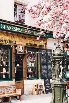 A stalwart of the Paris literary scene for decades, Shakespeare and Company is a. A stalwart of the Paris literary scene for decades, Shakespeare and Company is a bookstore that truly offers something different from the norm. Paris Travel, France Travel, Paris Photography, Travel Photography, Shakespeare And Company Paris, The Places Youll Go, Places To Visit, Restaurant Paris, Belle Villa