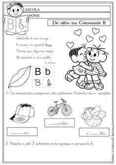 atividades para 1 ano alfabetização letra b - Pesquisa Google