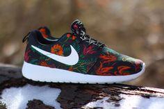 """Nike Roshe Run Print """"Total Orange"""" (Smokey Lotus)"""