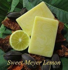 Sweet Meyer Lemon Cocoa Butter Hand Made Soap recipe