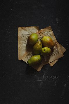 Pears by Yan Wang on Flickr