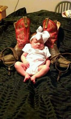 Cute baby picture...but with a pair of heels